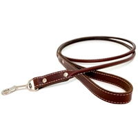 Rolled Leather Dog Leash