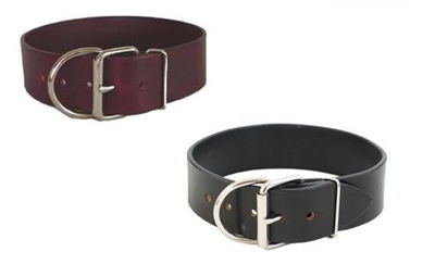 Tuff Stuff Leather Dog Collar