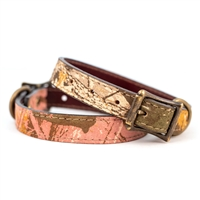 Auburn Leathercrafters Leather Camouflage Collars USA