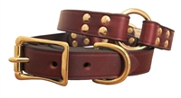 Auburn Leathercrafters Latigo Center Ring Safety Collar