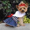 Seaworthy Dog Dress with Matching Leash XSm-Lg
