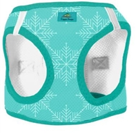 American River Choke Free Dog Harness Holiday Line - Snowflake