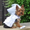 Dog Harness Wedding Dress-Veil and Matching Leash XSmall-Large