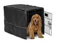 "Quiet Time Pet Crate Cover in 3 colors for 24"" Crate"
