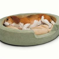 K&H Heated Dog Bed Thermo Snuggly Sleeper