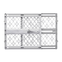 "North States Paws Portable Pressure Petgate Gray 26″-42""wide NS8871"