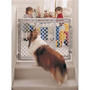 "Walk-Thru Pet Gate 27"" Tall x 27"" - 41"" Wide"