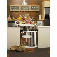 "Pressure Mounted  Easy-Close Pet Gate 28""- 38.5"" Wide-NS4991S"