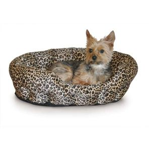 Self Warming Nuzzle Nest Small Dog Bed