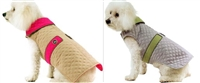 Quilted Dog Coat - Reversible Doggy Wrappers