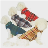 Fleece Reversible Dog Doggy Wrappers