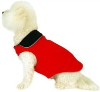 Fleece Doggy Wrapper Reversible Dog Coat