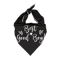 Best Good Boy Dog Bandana