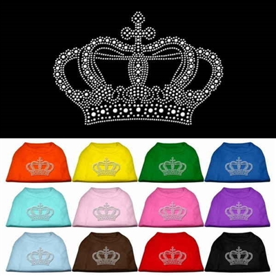 Crown Rhinestone T Shirts