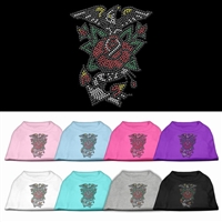 Eagle Rose Studded T Shirts