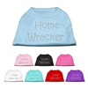 Home Wrecker Rhinestone T Shirts