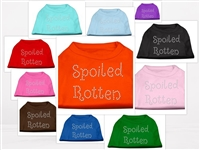 Spoiled Rotten Dog T Shirts