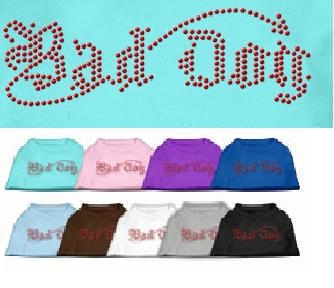 Bad Dog Rhinestone T Shirts