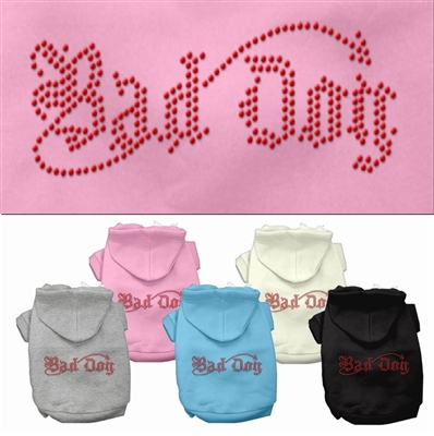 Bad Dog Rhinestone Hoodies