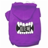 Bite Me Screenprint Dog Halloween Hoodie XSm-3X-Large - Free shipping in the United States