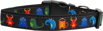 Halloween Black Monsters Nylon Collar - Free Shipping