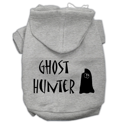 Ghost Hunter Screen Print Pet Hoodies Free USA Shipping