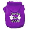 Here for the Boos Screenprint Dog Hoodie Free USA Shipping