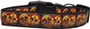 Halloween Skull Crossed Lovers Nylon Dog Collars - Free Shipping