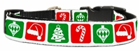 Timeless Christmas Nylon Dog Leash USA Free Shipping