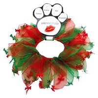 Christmas Bone Dog Collar Smoocher Free Shipping