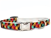 Block Party Nylon Dog Collar