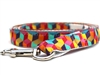 "Block Party Dog Leash ""Dark"" or ""Bright"""