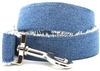 Blue Jean Baby Dog Leash by Diva Dog