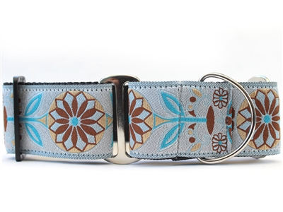 Boho Morocco Extra Wide Martingale Dog Collar