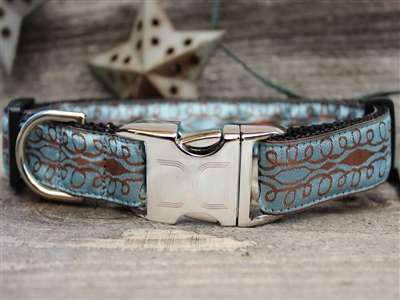 Calligraphy Dog Collar