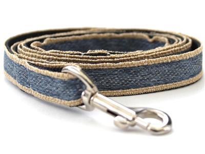 Denim Nylon Leash by Diva Dog