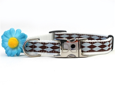 Gerber Daisy Buckle Collar Teacup-XSmall