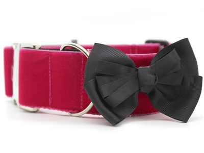 Marilyn Extra Wide Martingale Dog Collar