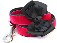 Marilyn Velvet Dog Leash by Diva Dog
