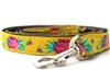Spanish Rose Dog Leash by Diva Dog