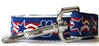 Stars and Paws Nylon Dog Leash by Diva Dog Teacup to XLg
