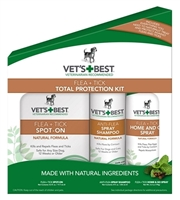 Flea & Tick 3-piece Total Protection Kit - Dog, Home & Yard