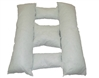Pillow Insert for Rectangular Pet Bed Made in USA
