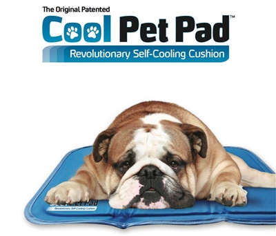 The Green Pet Shop Self Cooling Dog Crate Pad
