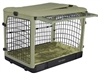 "The Other Doorâ""¢ Steel Dog Crate - Sage"