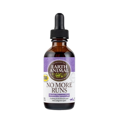 Earth Animal No More Runs Digestive Care for dogs 2oz
