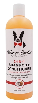 Warren London Coconut 2 in 1 Shampoo - Conditioner